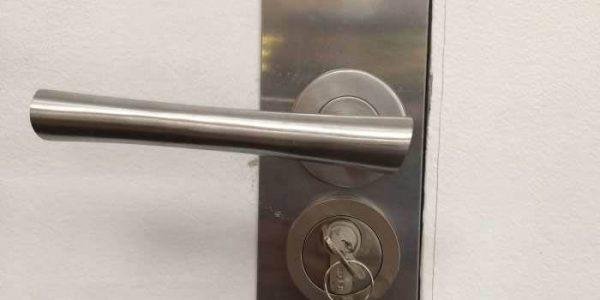 new lock installed