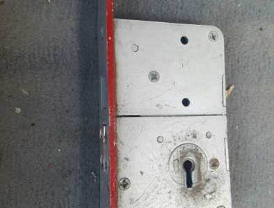 old lock replaced in london